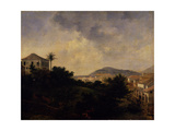 View from Mount Gloria, C.1820 Giclee Print by Nicolas Antoine Taunay
