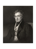 William Lawrence, Engraved by J. Cochran, from 'The National Portrait Gallery, Volume II',… Giclee Print by Henry Wyatt