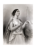 Saint Cecilia, Illustration from 'World Noted Women' by Mary Cowden Clarke, 1858 Giclee Print by Pierre Gustave Eugene Staal