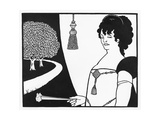 Madame Rejane, Illustration from 'The Yellow Book', 1893-94 Giclee Print by Aubrey Beardsley