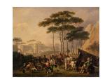 Festa Napolitana, 1824 Giclee Print by Nicolas Antoine Taunay