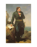 Portrait of Georges Cadoudal (1771-1804) 1827 Giclee Print by Amable Paul Coutan