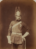 Sergeant-Major Stewart, 5th (Princess Charlotte of Wales's) Dragoon Guards Photographic Print by  Joseph Cundall and Robert Howlett