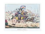 Sailors on a Cruise, Published by James Robins, 1st September 1825 Giclee Print by George Cruikshank