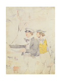 Juvenile Members of the Yacht Club, 1853 Giclee Print by Richard Dadd