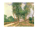 Banks of the Loing, Near Moret Giclee Print by Alfred Sisley