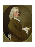 An Unknown Man, 1746 Giclee Print by George Beare