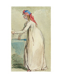 Mrs Morland's Portrait, C.1800-04 Giclee Print by James Ward