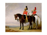 Colonel James Charles Chatterton (1792-1874) the 4th Royal Irish Dragoon Guards, on His Charger… Giclee Print by John Junior Ferneley