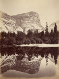 Mirror Lake, Yosemite Valley, Usa, 1861-75 Photographic Print by Carleton Emmons Watkins