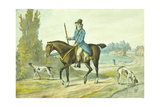 The Return from the Sports of the Field, 1786 Giclee Print by Robert Dighton