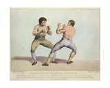 Boxing Match Between Daniel Mendoza and Richard Humphreys, 29th September 1790 Giclee Print by Charles Reuben Ryley