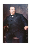 Grover Cleveland (1837-1908) Giclee Print by Eastman Johnson