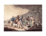 The Slave Trade, Engraved by J.R. Smith Giclee Print by George Morland