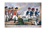 'The Grand Review on Sydenham Common' Giclee Print by Isaac Cruikshank