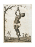Flagellation of a Female Samboe Slave, from a 'Narrative of a Five Years' Expedition Against the… Giclee Print by John Gabriel Stedman