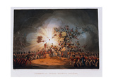 Storming of Ciudad Rodrigo, 19th January 1813, Engraved by Thomas Sutherland (1785-1838)… Giclee Print by William Heath