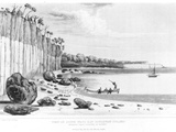 Watering Party Attacked by Natives in South-West Bay, Goulburn Island, from 'Narrative of a… Photographic Print by Philip Parker King