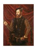 Don Luis De Castella, Senor De Bicorp Giclee Print by Vicente Juan Macip