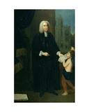 Portrait of Jonathan Swift (1667-1745) Giclee Print by Francis Bindon