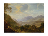 Rhenish Landscape Giclee Print by Herman the Younger Saftleven