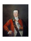 Captain James Gorry, 87th Regiment of Foot, or Highland Volunteers, 1760 Giclee Print