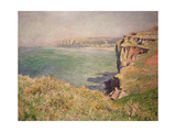 Cliff at Varengeville, 1882 Giclee Print by Claude Monet