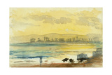 Sunrise Near Haifa, 1872 Giclee Print by Claude Conder