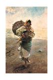 Fisherwoman, 1885 Giclee Print by Rafael Senet