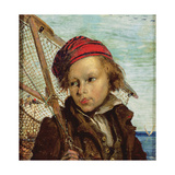 Italian Fisherboy Giclee Print by Ford Madox Brown