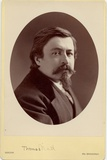 Thomas Nast (1840-1902), American Cartoonist Photographic Print by Napoleon Sarony