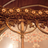 Detail of the Rood Screen, from St Mary's Church Photographic Print