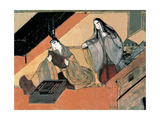 The Tale of Genji, C12th Giclee Print by Fujiwara Takayoshi