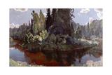 In the Bosom of Nature Giclee Print by Arkadij Aleksandrovic Rylov