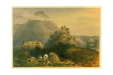 Views of Ancient Monuments in Palenque, Illustration from 'Incidents of Travel in Central… Giclee Print by Frederick Catherwood