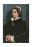 Portrait of a Lady, Thought to Be Catherine Howard Reproduction procédé giclée par Hans Holbein the Younger