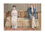 Courting, 1868 Giclee Print by Adelaide Claxton