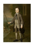 Sir Frederick Evelyn as a Boy, 1744 Giclee Print by George Beare