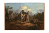 Landscape with a Ruined Castle Giclee Print by Thomas Gainsborough