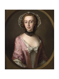 Portrait of Louisa Balfour, 1751 Giclee Print by Philippe Mercier