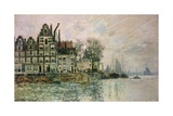 The Port of Amsterdam, C.1873 Giclee Print by Claude Monet