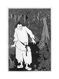 Ali Baba in the Woods, 1897 Giclee Print by Aubrey Beardsley