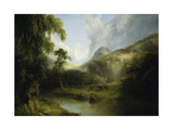 Ben Lomond, 1829-30 Giclee Print by Thomas Doughty