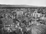 View of the Christian Area, City of Damascus after the Fire of 1860, 1862 Photographic Print by Francis Bedford