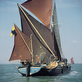'Lord Roberts' Boat During the Thames Barge Race Photographic Print