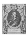 Portrait of Archduke Leopold Wilhelm of Austria (1614-1662), Grand Master of the Teutonic Order,… Giclee Print by Anselmus Van Hulle