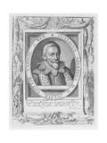 Gustavus Adolphus, King of Sweden, 1620 Giclee Print by Nicolas de Clerck