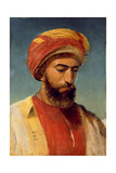 Portrait of a Man in a Turban Giclee Print by William Gale