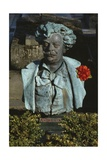 Bust of Andre Gill Giclee Print by Laure Coutan