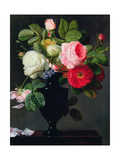 Still Life with Flowers Giclee Print by Antoine Berjon